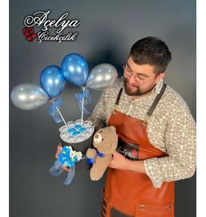 Balon Kutusu Çikolata Aşkı